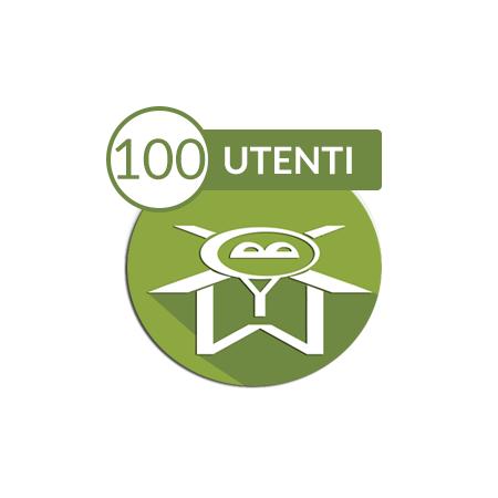Mobyxapp 100 utenti, logo dell'applicazione